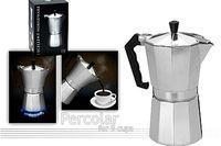 Кофеварка на 9 чашек EH, алюминевая
