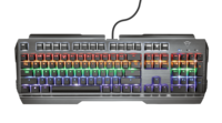 Клавиатура Trust Gaming GXT 877 Scarr, Black