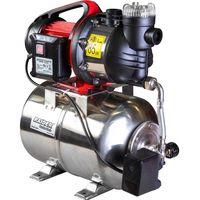 Гидрофор с баком из нержавеющей стали 1300Вт,выход 1 дюйм,80л/мин,48м. Raider RD-WP1300S