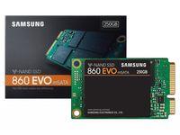 .mSATA SSD  250GB Samsung 860 EVO