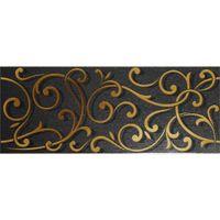 Argenta Ceramica Декор Forge Black 20x50см