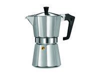 Кофеварка на 6 чашек Ghidini Pezzetti, алюминиевая