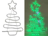 """Световая фигура """"Елка"""" LED, 70X48сm, цвет зеленый"""