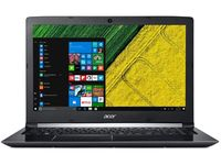 "ACER Aspire A515-51G Obsidian Black (NX.GTCEU.041) 15.6"" IPS FullHD (Intel® Quad Core™ i5-8250U 1.60-3.40GHz (Kaby Lake R), 8Gb DDR4 RAM,256GB SSD, GeForce® MX150 2Gb DDR5, w/o DVD, WiFi-AC/BT, 4cell, 720P HD Webcam, RUS, Blacklit,Linux, 2.2kg)"