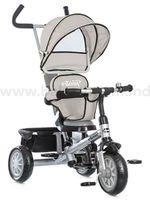 Chipolino Трицикл Twister TRKT01701GY серый  (360˚)
