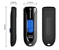 Flash Drive Transcend JetFlash 790 Black 64Gb