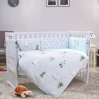 Veres Комплект для кроватки Кактус, 6 штк