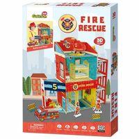 3D PUZZLE Fire Rescue