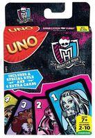 """Monster High CJM75 Игра карточная """"Uno"""" обновлённая"""