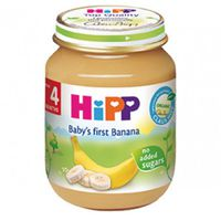Hipp пюре банан, 4+мес. 125г