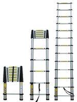 купить Лестница телескопическая 12 ст (3800x480x88) в Кишинёве