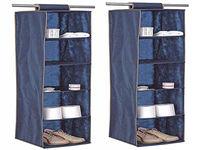 Органайзер для хранения подвесной BLUE 5 секций 30X30X120cm