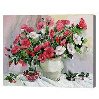 Осенний букет, 40x50 см, алмазная мозаика, QA204503