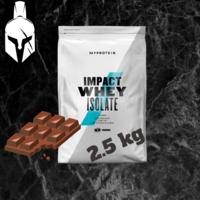Proteina Pură (Izolată) din Zer - Impact Whey Isolate - Ciocolată Neagră - 2.5 KG