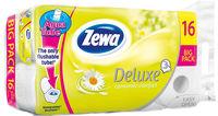 Zewa Deluxe camomile туалетная бумага 3-х слойная, 16 рулонов