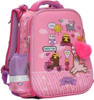 "Ghiozdan pentru școală ""Friends"" CLASS I roz"