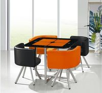 Grace Furniture A-031 Orange/Black