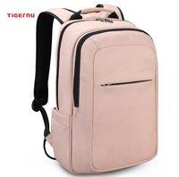 РЮКЗАК TIGERNU T-B3090B розовый С USB-ПОРТОМ