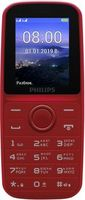 Philips E109 Dual Sim,Red