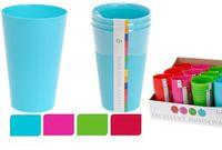 купить Набор стаканов EH 3шт, пластик в Кишинёве