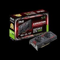 ASUS EXPEDITION EX-GTX1060-6G, GeForce GTX 1060 6Gb GDDR5, 192-bit