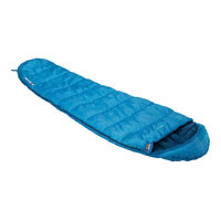 Спальный мешок High Peak Trek 2, 7/2/-12 °C, blue-dark blue, 23095