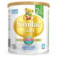 Similac Gold 2 молочная смесь, 6-12 мес. 400г
