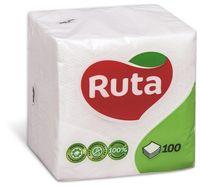 RUTA Салфетки столовые РУТА/100 белые