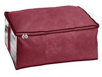 Чехол для хранения 60X40X25cm тканевый, бордо