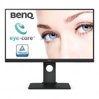 "27.0"" BenQ ""BL2780T"", Black (IPS, 1920x1080, 5ms, 250cd, LED20M:1(1000:1), D-Sub+HDMI+DP, HAS/Pivot) (27.0"" IPS LED, 1920x1080 Full-HD, 0.311mm, 5ms (GtG), 250 cd/m², DCR 20Mln:1 (1000:1), 72%NTSC, 16.7 Mln, 178°/178° @CR>10, 30~83 KHz(H)/ 50~76Hz(V), VGA + HDMI + DisplayPort, Stereo Audio-In, Headphone-Out, Built-in PSU, HAS 140mm, Tilt: -5°/+20°, Swivel +/-45°, Pivot, VESA Mount 100x100, AMA, Flicker-free Technology, Low Blue Light, Black)"