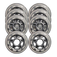 Roti p/u role Bladerunner 72mm/80A set 8 шт., 06232100000