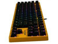 Клавиатура Hator Rockfall EVO TKL Optical Yellow