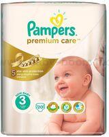 Pampers Premium Care 3 (4-9 кг.) 20 шт.
