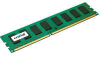 RAM DDR3-1600 4096 MB PC12800, Crucial CL11