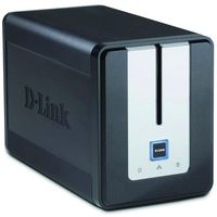 "D-Link DNS-323/E, 3.5"" SATA3 CPU 1.0GHz Ram 512MB USB2.0"