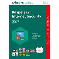 Kaspersky Internet Security , Multi-Device - 1 device, 12 months, box