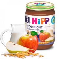 Hipp Good Night пюре манный десерт с яблоками и грушами, 4+мес. 190г