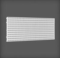 купить Перфорированная панель 893x15x382 мм, белый в Кишинёве