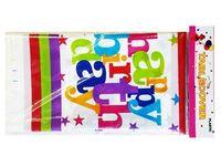 """купить Скатерть бумажная """"Happy Birthday!"""" 180X108cm в Кишинёве"""
