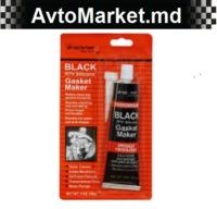 12шт Герметик силиконовый черный