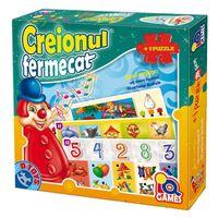 D-Toys Интерактивный пазл Creionul fermecatţă