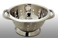 Дуршлаг металлический с подставкой, D20cm,H12.5cm