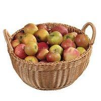 Корзина плетенная  для хранения овощей и фруктов 17827