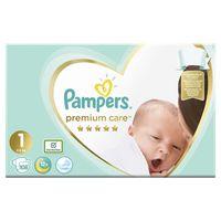 Pampers подгузники Premium Care 1, 2-5кг. 108 шт