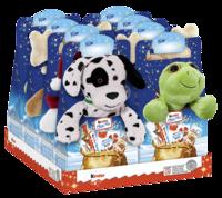 Kinder Maxi Mix с плюшевой игрушкой, 133г