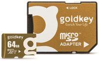 Goldkey MicroSDHC 64Gb Class 10 + Adapter