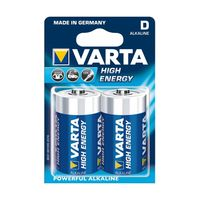 Батарейки Varta D High Energy 2 pcs/blist Alkaline, 04920 121 412