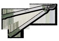 Сучкорез, 65см, STANDARD ALU-TEFLON, KT-W1214