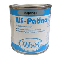 WS-Plast Краска WS-Patina Серебристая 0.25л