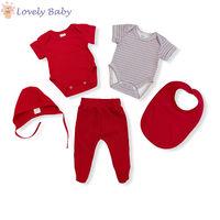 Набор для новорожденных красный